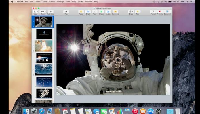 OS X Yosemite é apresentado em evento da Apple (Foto: Reprodução)