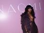 Naomi Campbell aposta em decote em lançamento de autobiografia