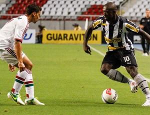 Seedorf Botafogo x Fluminense (Foto: Rudy Trindade / Ag. Estado)