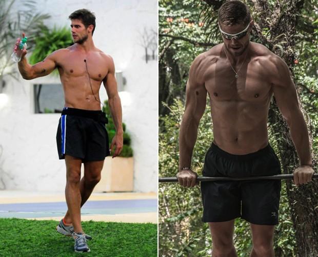 jonas bbb antes e depois (Foto: BBB/TvGlobo)