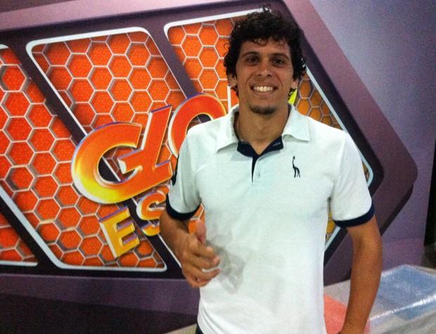 Goleiro Rodrigo Viana Tupi-MG (Foto: Rafael Donizete)