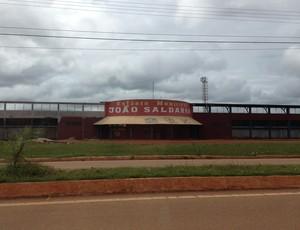 Estádio João Saldanha, em Guajará-Mirim (Foto: Junior Freitas)