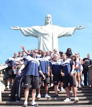 Treino Mogi das Cruzes NBB no Rio de Janeiro (Foto: Reprodução/Facebook)