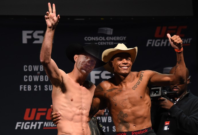 Donald Cerrone Alex Cowboy UFC Pittsburgh (Foto: Getty Images)
