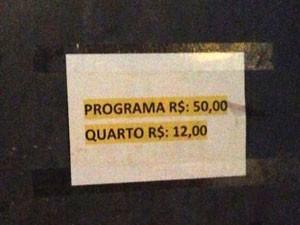 No Rio, adolescentes eram prostituídas por R$ 50 (Foto: Divulgação/DCAV-RJ)