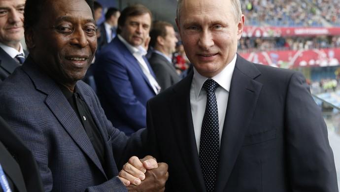 Pelé Putin Rússia Nova Zelândia (Foto: EFE)