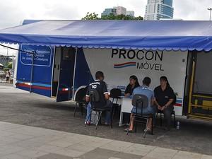 Procon Móvel fará atendimentos na primeira semana de janeiro de 2015. (Foto: Divulgação/ Procon-BA)