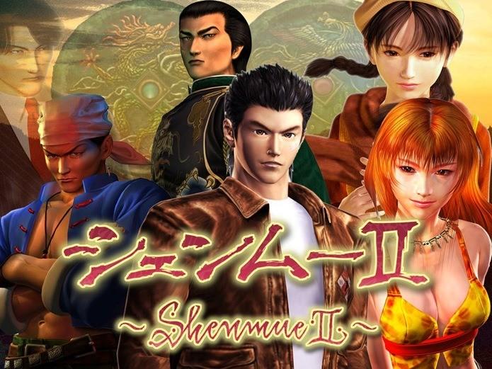Shenmue II é um dos jogos mais caros feitos pela SEGA (Foto: Divulgação)