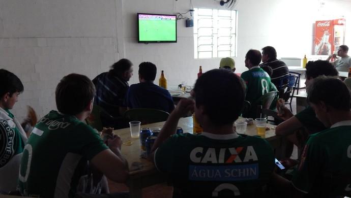 torcedores chapecoense arena condá (Foto: Laion Espíndula)