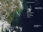 'Lama' vista por satélite em Guarapari não é rejeito, diz especialista