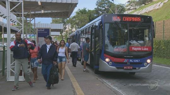 Empresa tem 24h para retomar integração em ônibus de Valinhos