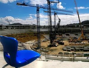 Novas cadeiras do Maracanã (Foto: Érika Ramalho/Divulgação)