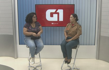 'G1 na Rede': bombeira orienta como usar de foguetinhos aos fogos de artifício