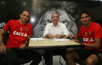 Sport renova contratos de Durval e Magrão até o final do próximo ano