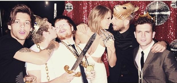Taylor Swift e Calvin Harris (Foto: Instagram / Reprodução)