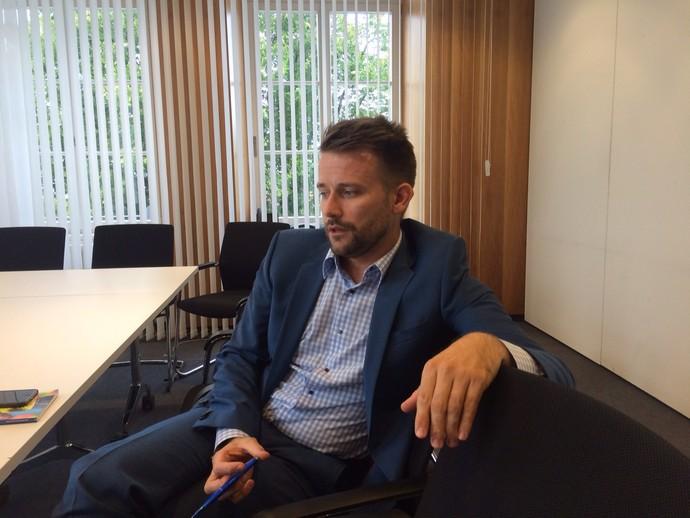 Lukas Brud - secretário da international board - entrevista (Foto: Martin Fernandez)