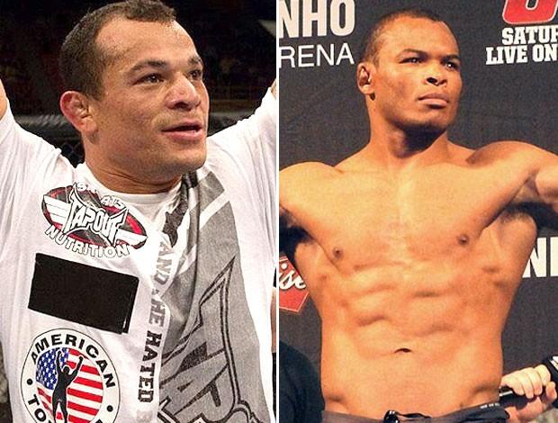 Gleison Tibau e Francisco Massaranduba, UFC (Foto: Editoria de arte / Globoesporte.com)
