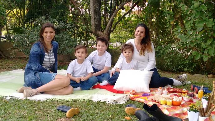 Camille Reis, Thalita e Gui vão trazer curiosidades no JA (Foto: RBS TV/Divulgação )