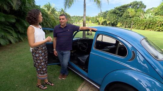 'Mosaico' revela a paixão por carros antigos