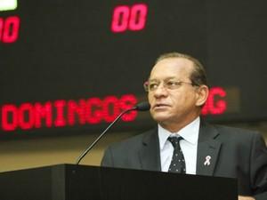 O deputado estadual e ex-prefeito de Sorriso José Domingos Fraga (PSD) (Foto: Marcos Lopes/ALMT)
