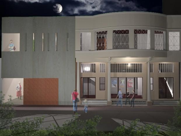 FCCR apresenta projeto para revitalizar do Cine Teatro em São José (Foto: Divulgação/FCCR)