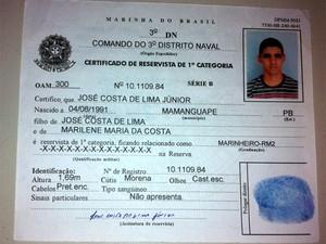 José Costa de Lima Júnior (Foto: Reprodução/Matheus Magalhães/G1)