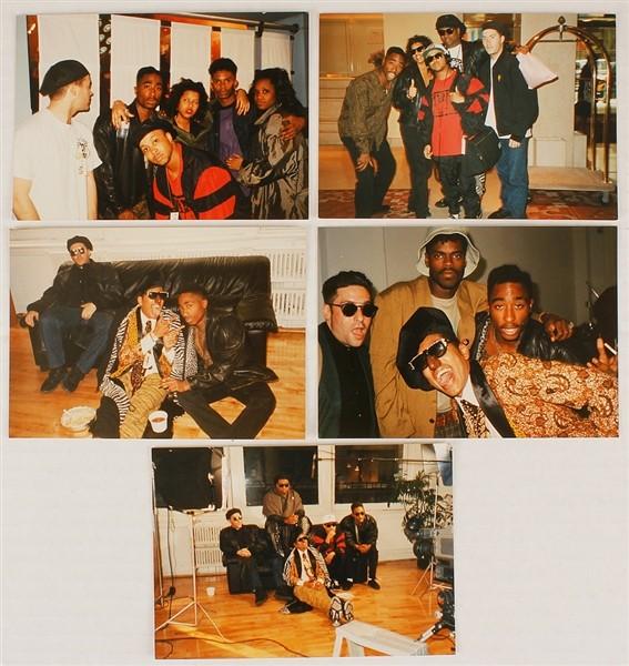 Outras fotos raras de Tupac vo junto com o nude que vai ser leiloado (Foto: Divulgao/Got Have Rock And Roll)