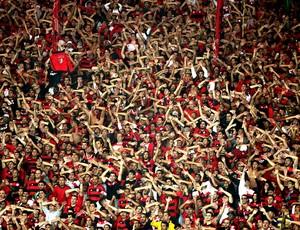 torcida Flamengo jogo Goiás Maracanã (Foto: Marcelo Theobald / Agência O Globo)