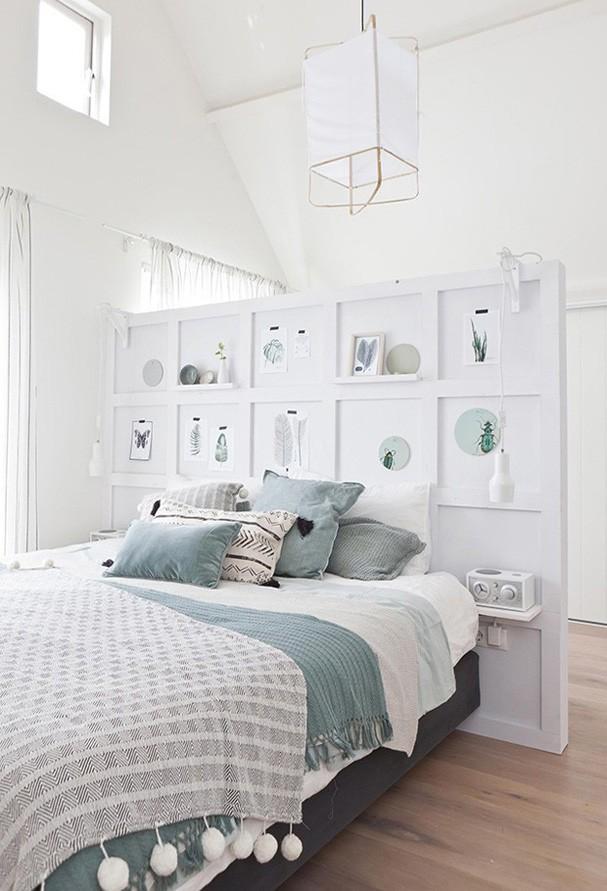 12 quartos brancos decorados de forma ideal Casa Vogue  ~ Quartos Decorados Com Papel De Parede Preto E Branco