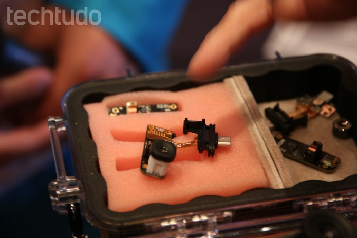 Detalhes do dispositivo Seek Thermal (Foto: Fabricio Vitorino/TechTudo)