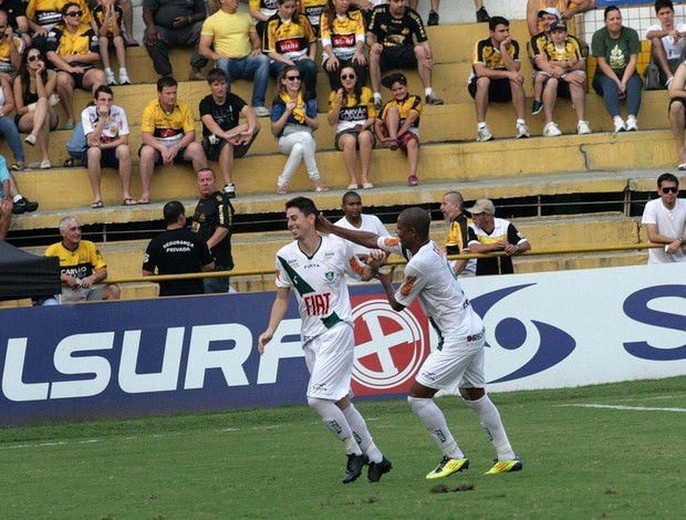 Alessandro gol América-MG (Foto: Fernando Ribeiro / Futura Press)
