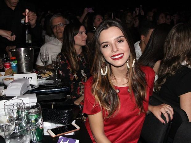 Giovanna Lancellotti em show no Rio (Foto: Marcello Sá Barretto/ Ag. News)