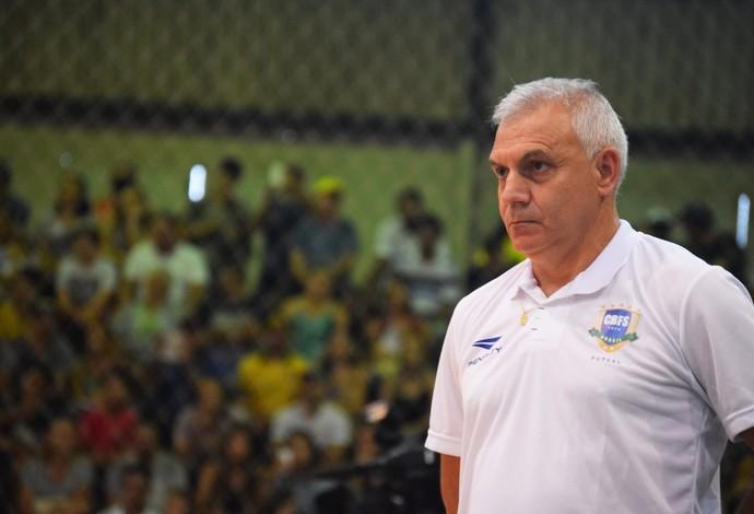 Serginho Schiochet seleção brasileira futsal (Foto: Luis Domingues/CBFS)