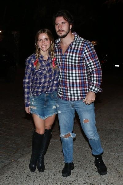 """Monique e o namorado, Gabriel Sala, seguem juntos: """" (Foto: Ag News)"""