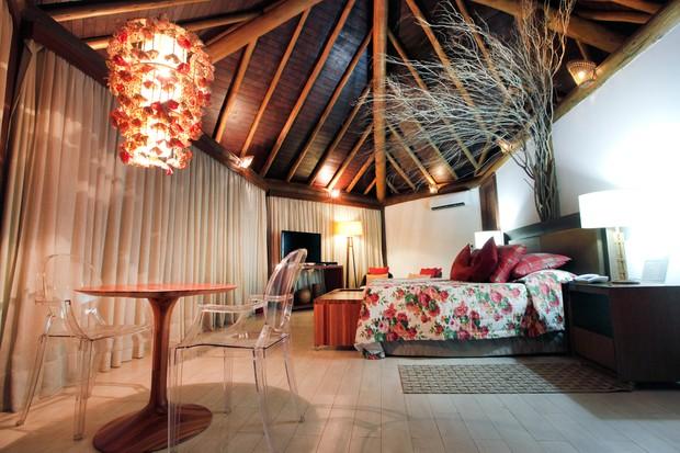Pousada onde Fernanda Vasconcellos e Cássio Reis estão hospedados em Fernando de Noronha (Foto: Reprodução / Pousada Triboju)