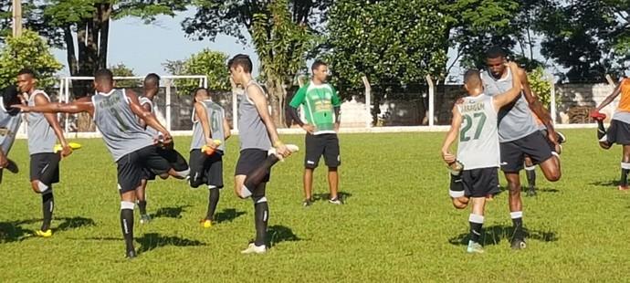 Francana treino (Foto: Assessoria de Imprensa / Francana)