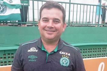 Márcio Bestene, acreano, médico Chapecoense (Foto: Márcio Bestene/Arquivo Pessoal)