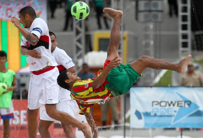 Datinha é o camisa 10 do Brasil e do Sampaio Corrêa no Brasileiro em Santos  ( 014a6ccfbfa84
