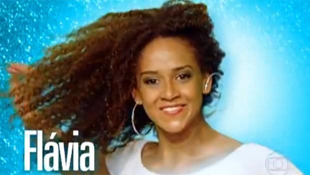 Flavia se deu bem na primeira etapa da escolha da nova Globeleza (Foto: Reprodução)