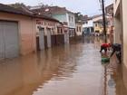 Chuva provoca vazamento de amônia e causa enchentes no Sul de Minas