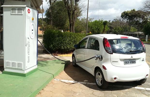 posto de carga rápida para carro elétrico (Foto: Divulgação)