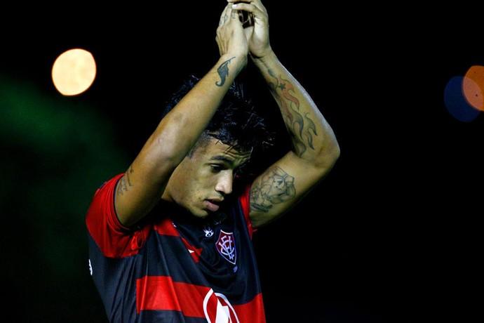 vander; vitória (Foto: Felipe Oliveira/Divulgação/EC Vitória)