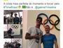 Com surfe perto da Olimpíada, Medina visita a Vila e almoça com brasileiros