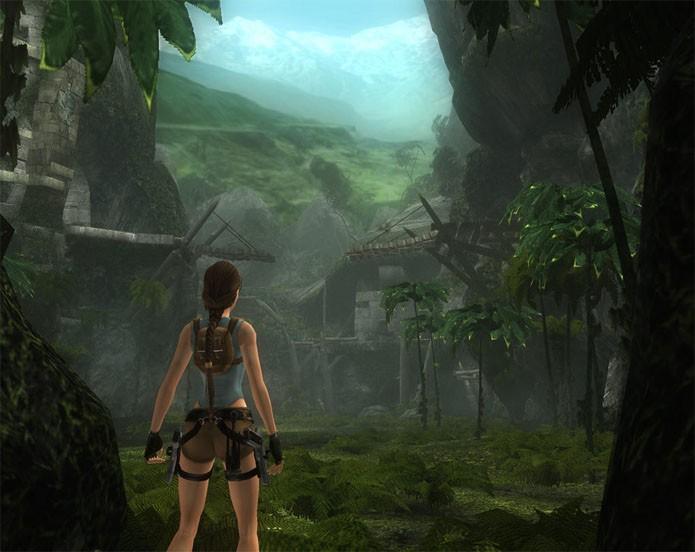 Tomb Raider Aniversary mostra o primeiro game com gráficos melhorados (Foto: Divulgação/Square Enix)