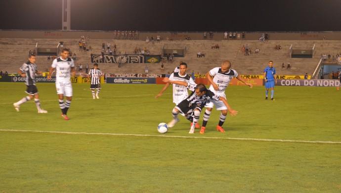 botafogo-pb x ceará almeidão (Foto: Juliana Bandeira / GloboEsporte.com/pb)