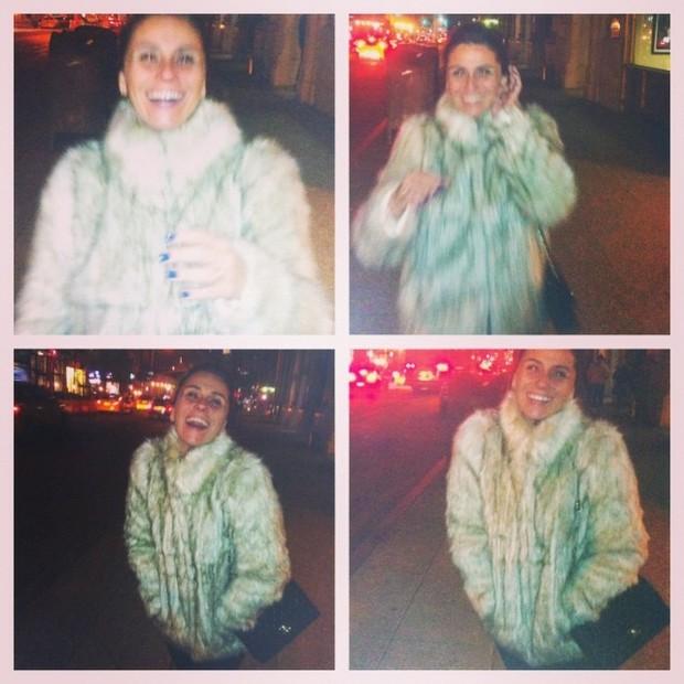 Giovanna Antonelli se diverte em Nova York, nos Estados Unidos (Foto: Instagram/ Reprodução)