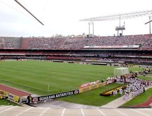 estádio Morumbi jogo São Paulo x Fluminense (Foto: Rafael Cavalieri / Globoesporte.com)