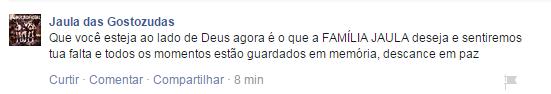 Jaula das Gostozudas (Foto: Reprodução/ Facebook)