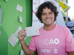 Felipe Camargo deixa um recado para as mulheres (Foto: Divulgação/ Kiko Cabral)