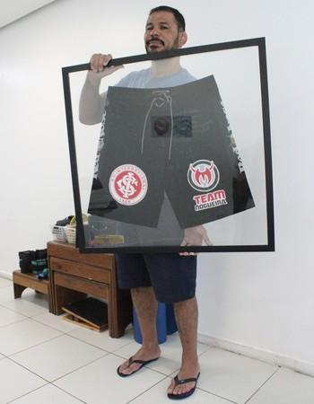 Rodrigo Minotauro, série Meu Tesouro (Foto: João da Mata)